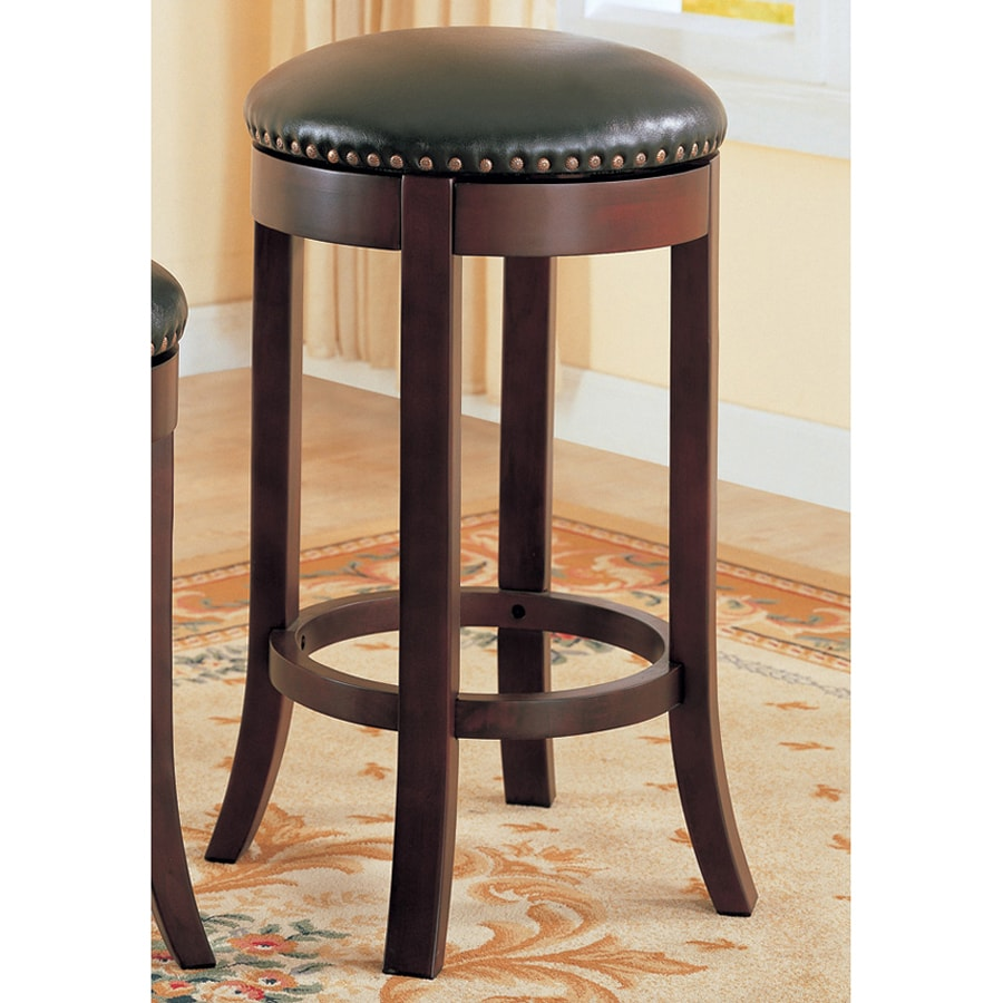 Coaster Fine Furniture Set of 2 Brown Bar Stools