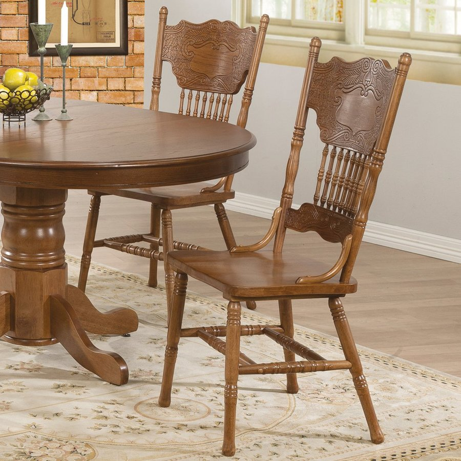 Coaster Fine Furniture Set of 2 Brooks Country Side Chairs
