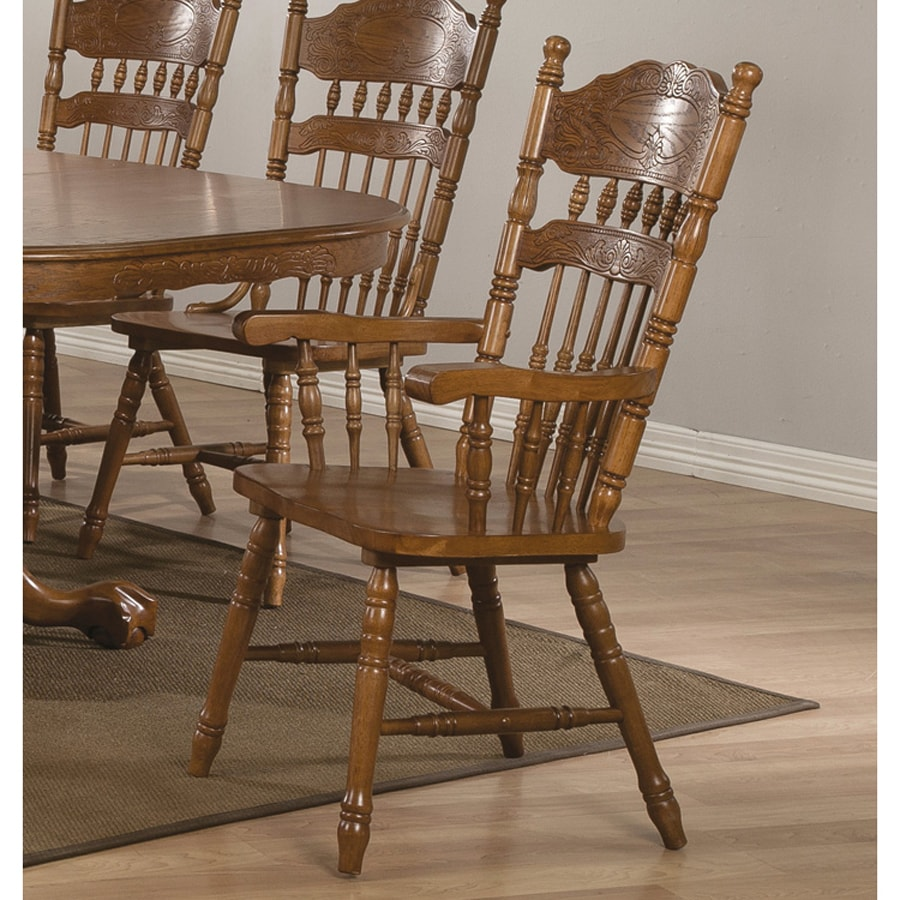 Coaster Fine Furniture Set of 2 Brooks Country Arm Chairs