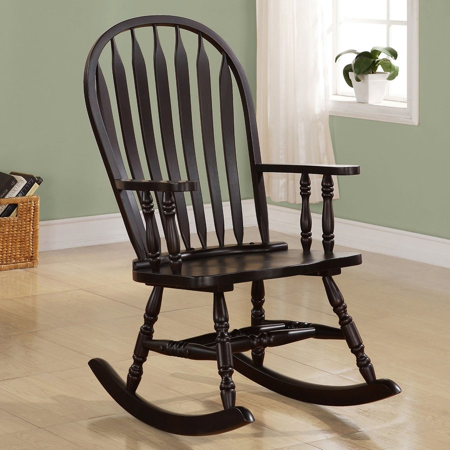 Coaster Fine Furniture Cappuccino Rocking Chair