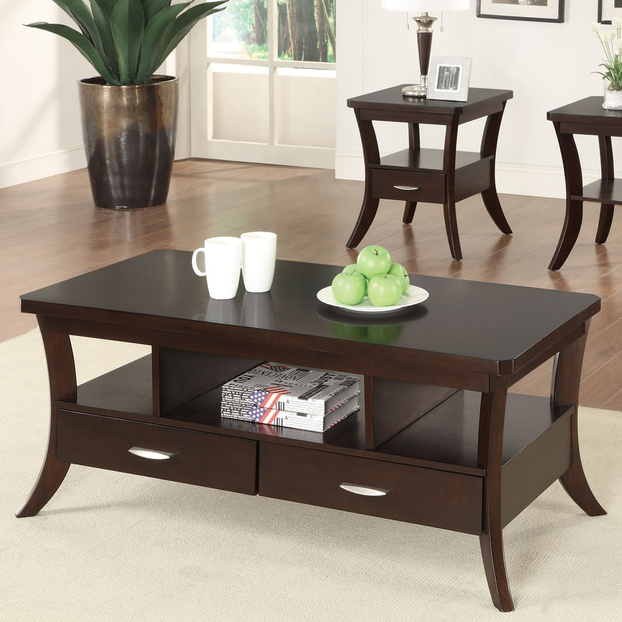Shop coaster fine furniture coffee table at lowes coaster fine furniture coffee table geotapseo Image collections