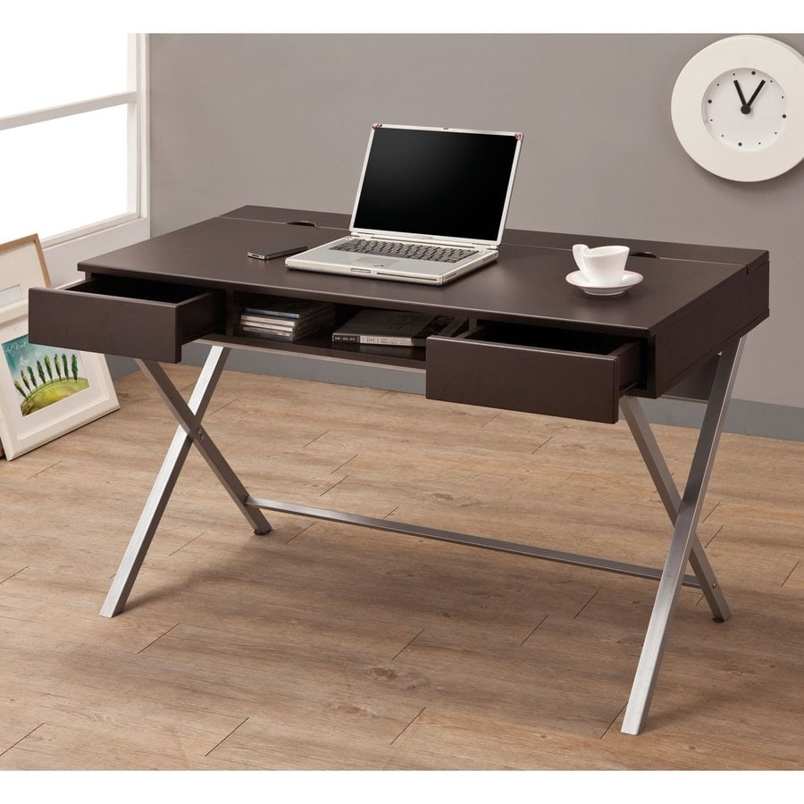 Coaster Fine Furniture Cappuccino Writing Desk