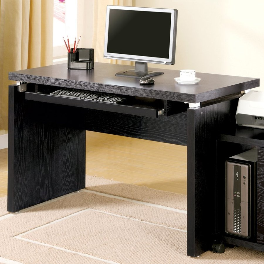 Coaster Fine Furniture Black Writing Desk