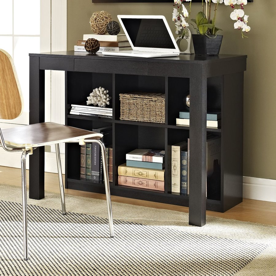 Altra Furniture Black Oak Writing Desk