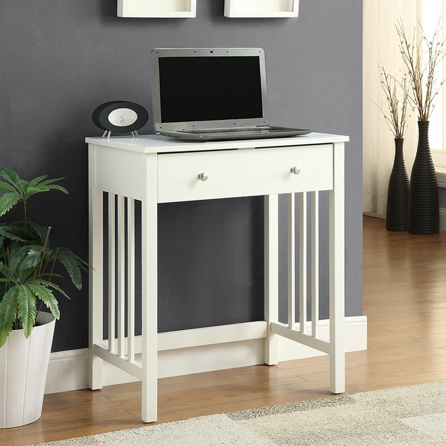 Convenience Concepts White Laptop Desk
