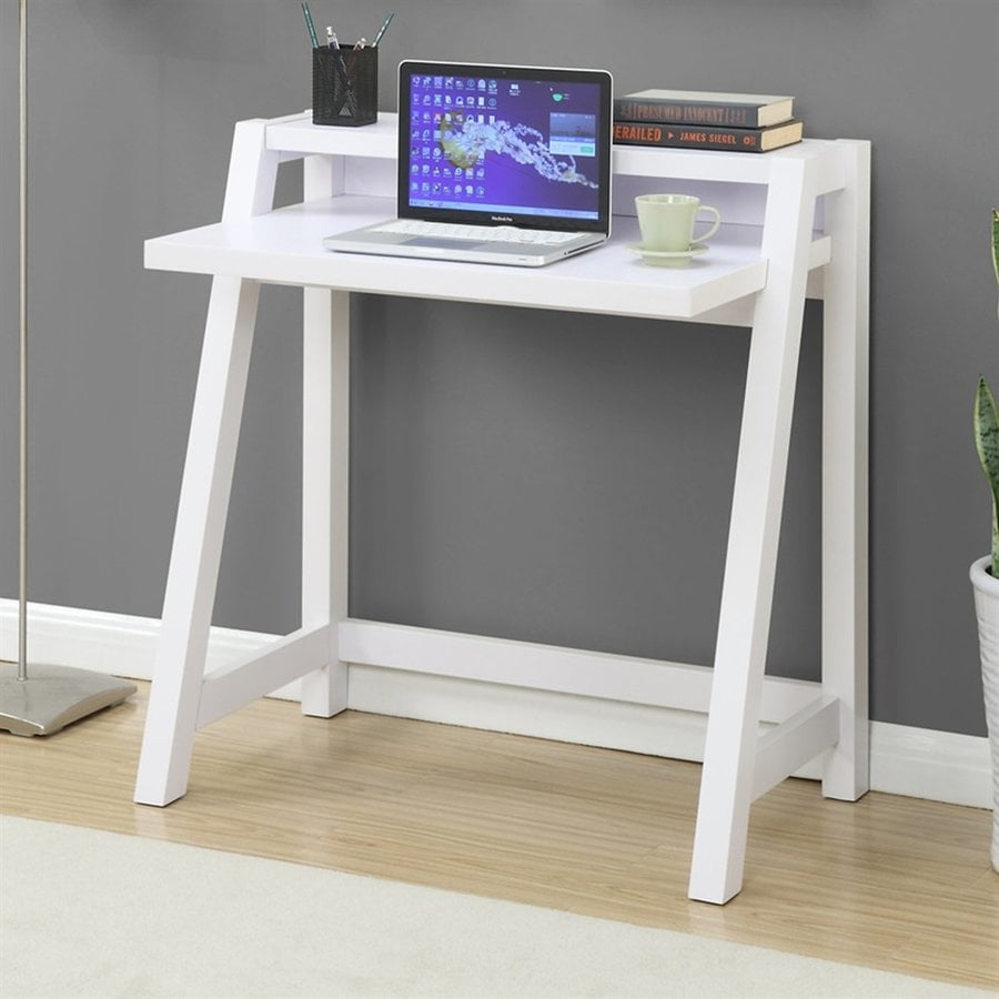 Convenience Concepts Newport White Writing Desk