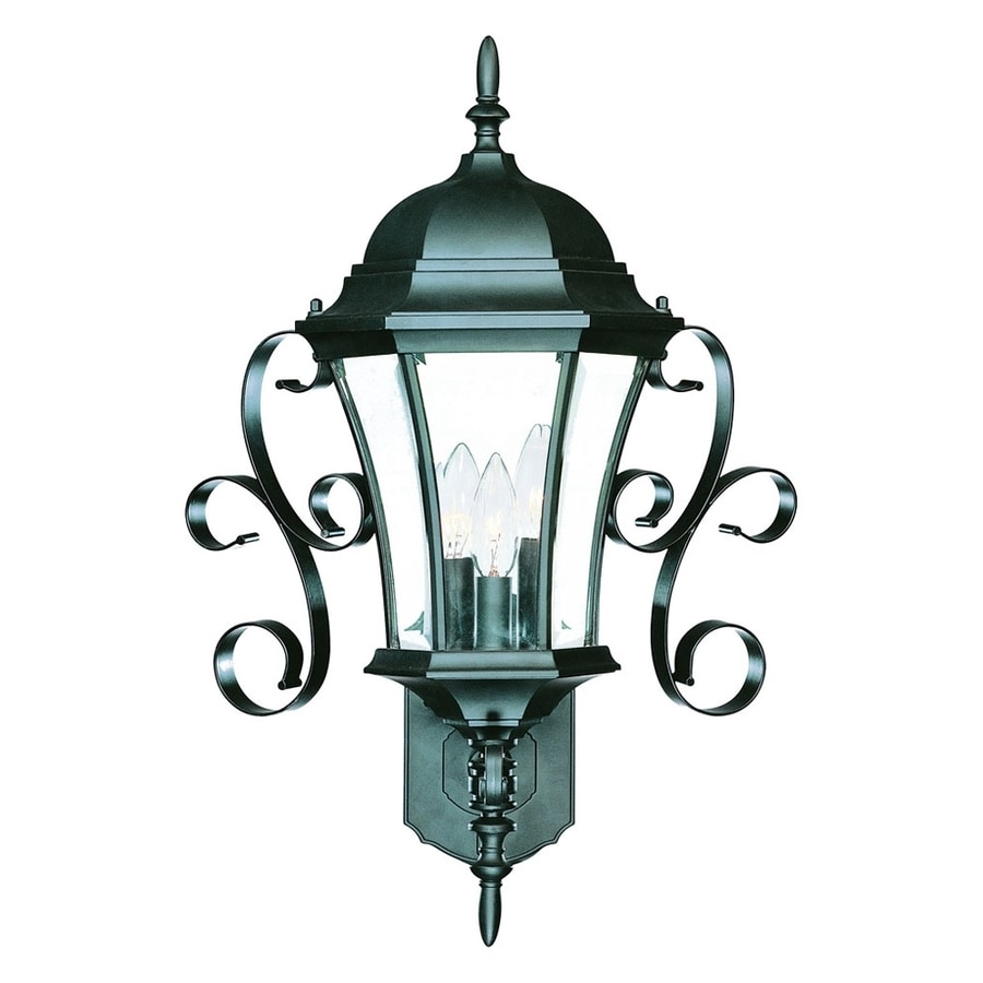 Acclaim Lighting New Orleans 23.5-in H Matte Black Outdoor Wall Light