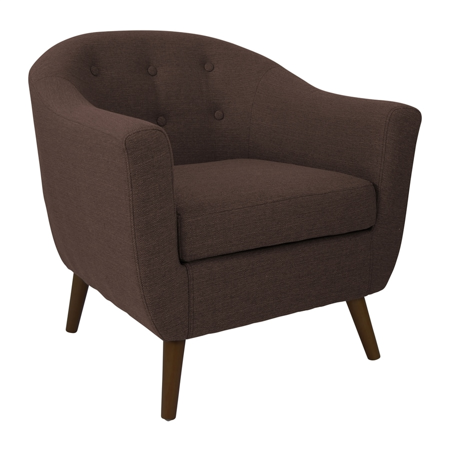 Lumisource Rockwell Espresso Accent Chair