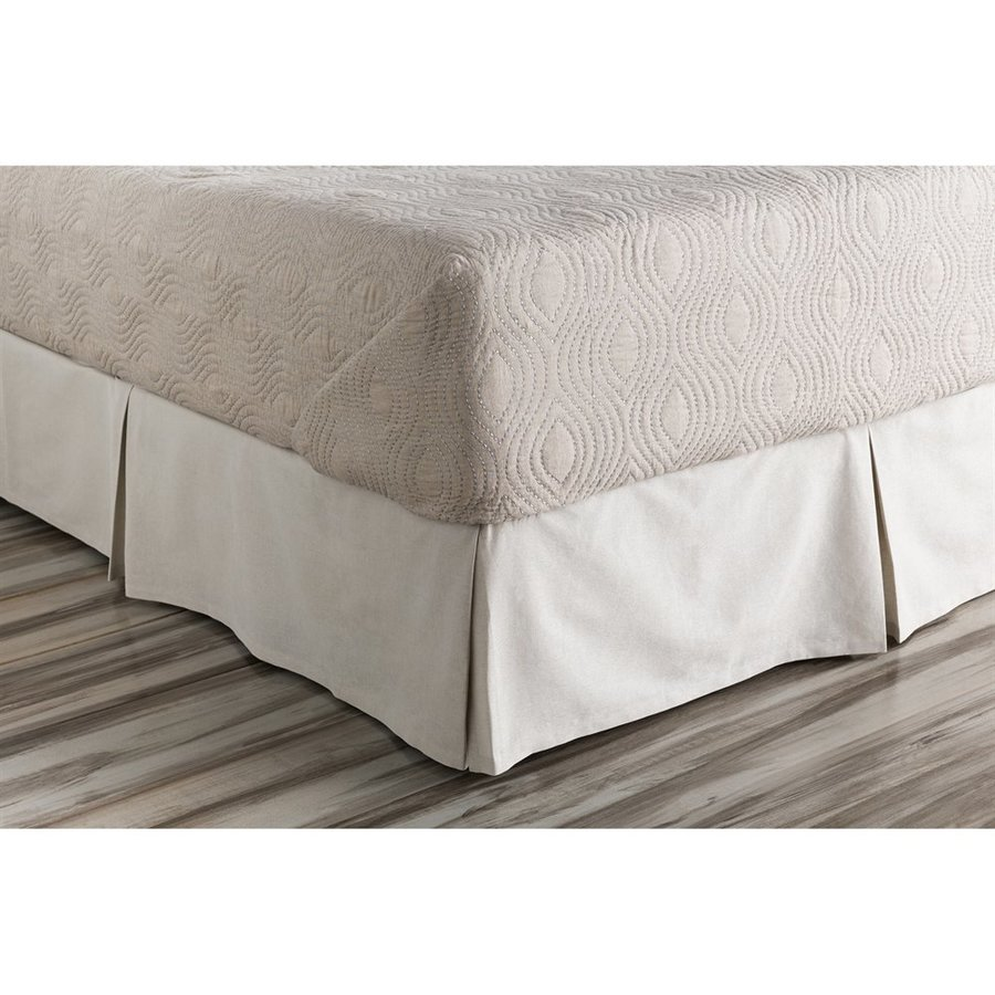 Surya Audrey Twin 15-in Bed Skirt