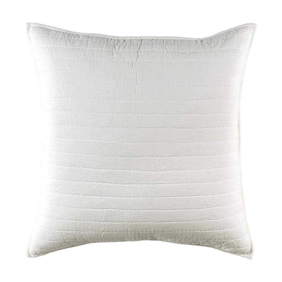 Surya Lindon White Euro Blend Pillow Case