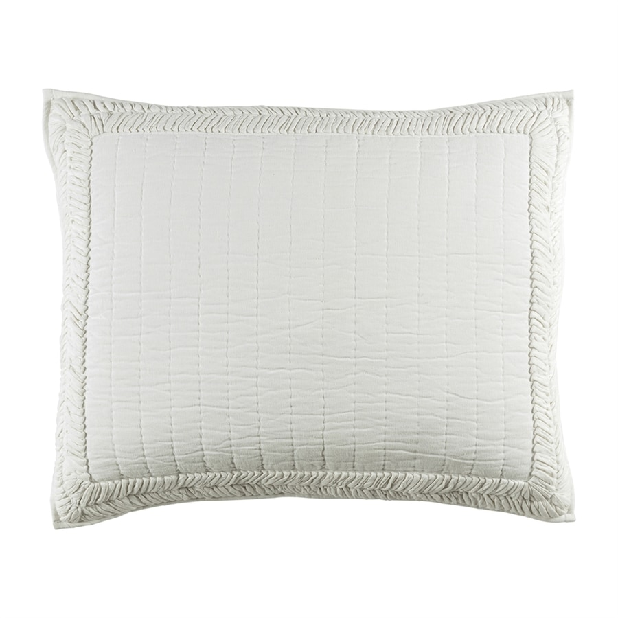 Surya Lindon White Standard Blend Pillow Case