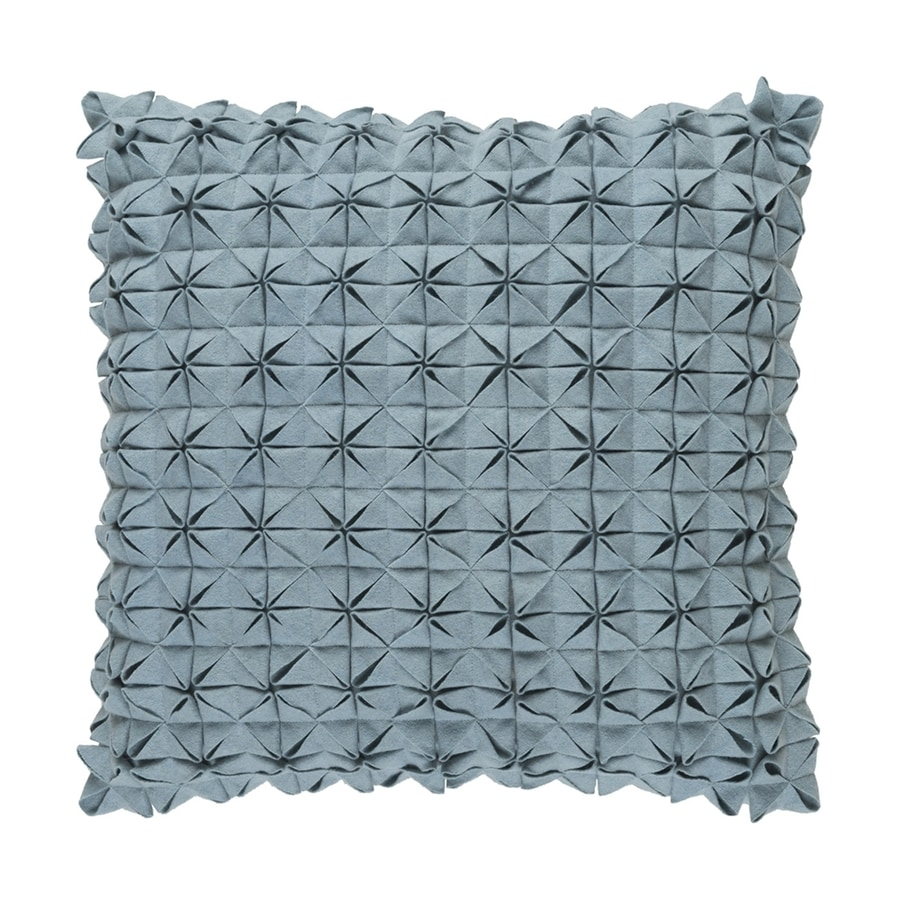 Surya Structure 18-in W x 18-in L Sage Square Indoor Decorative Pillow