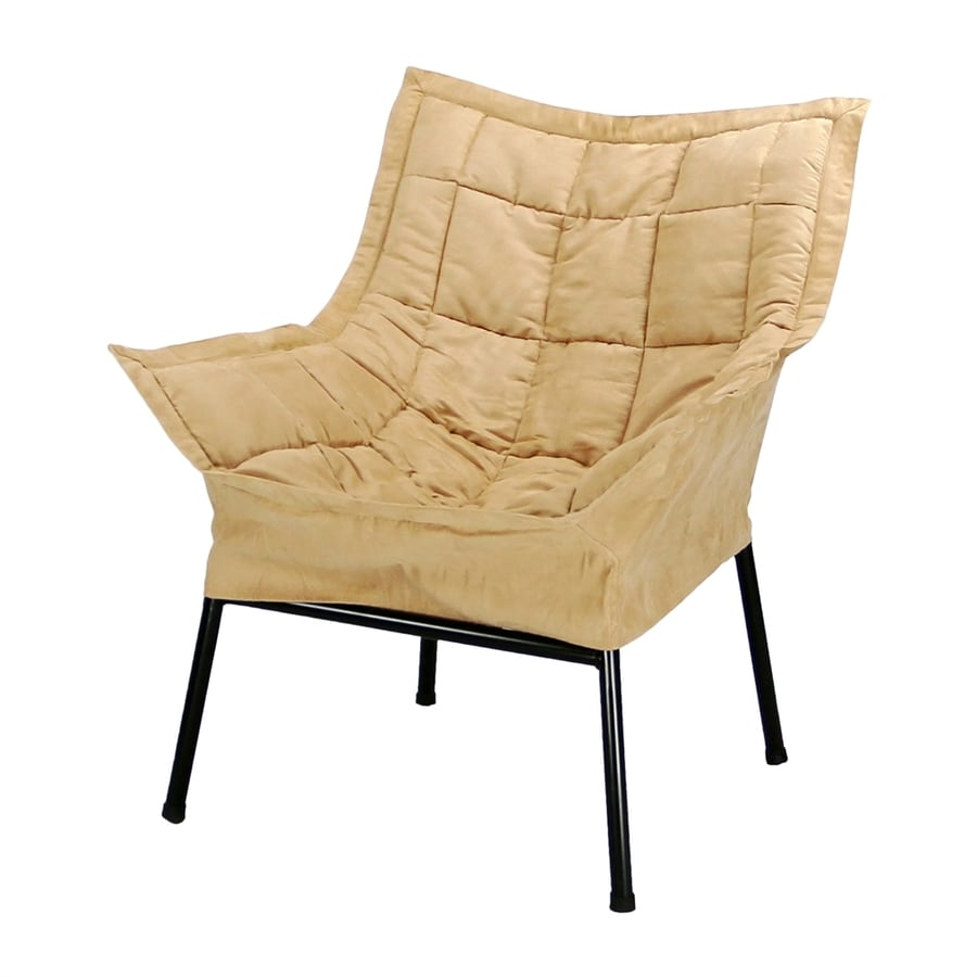 Casual Home Milano Tan Microsuede Accent Chair