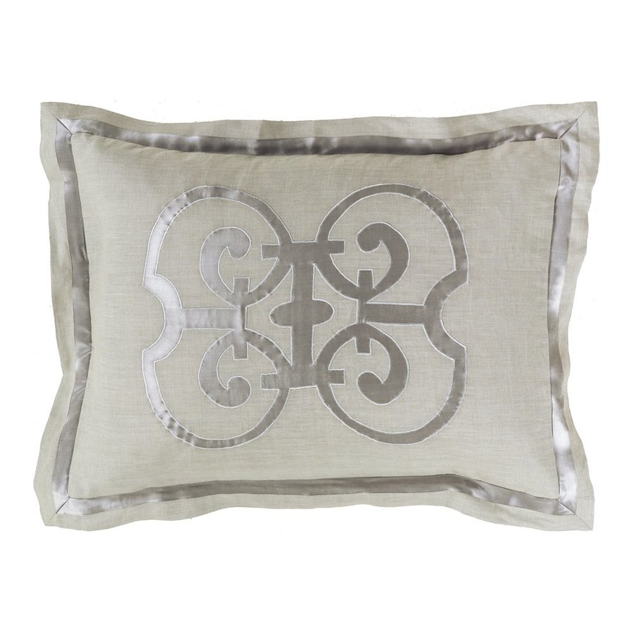 Surya Versaille Natural King Blend Pillow Case