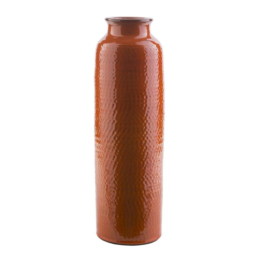 Surya Zuniga Poppy Red 100% Ceramic Vase