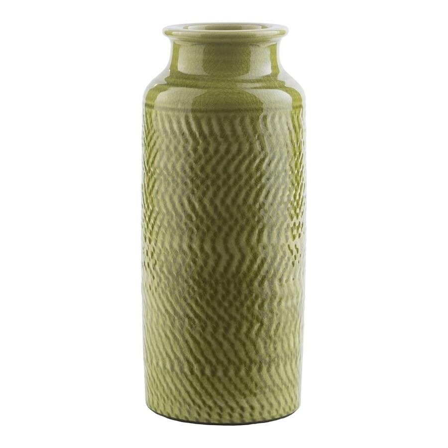 Surya Zuniga Moss 100% Ceramic Vase