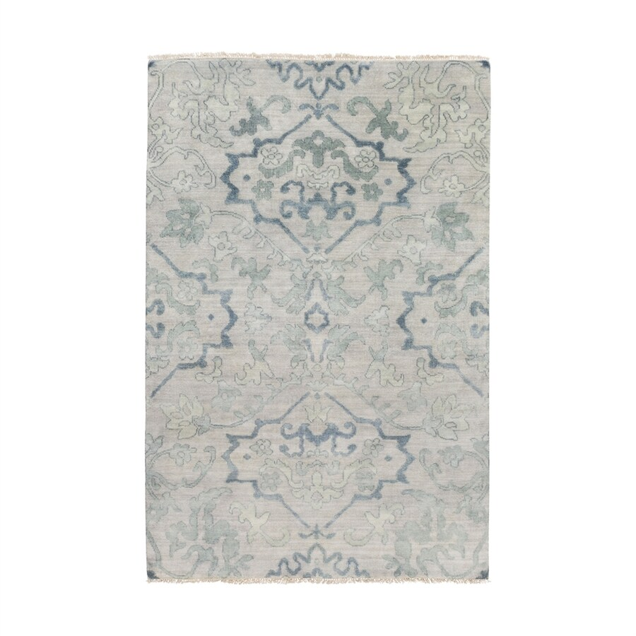 Surya Hillcrest Rectangular Indoor Hand-Knotted Oriental Area Rug (Common: 9 x 13; Actual: 9-ft W x 13-ft L)