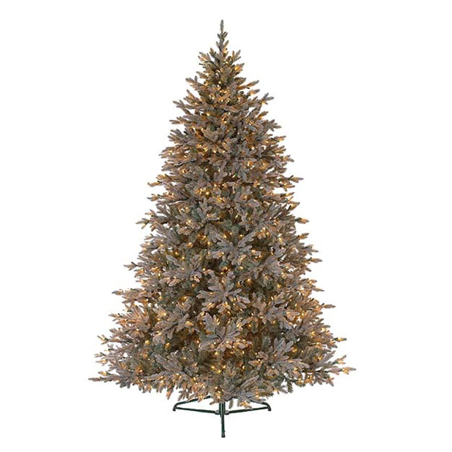 Northlight 7.5-ft 4,258-Tip Pre-Lit Artificial Christmas Tree with 700 Clear White Incandescent Lights