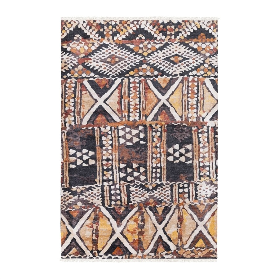 Surya Zambia Rectangular Indoor Hand-Knotted Safari Area Rug (Common: 4 x 6; Actual: 4-ft W x 6-ft L)