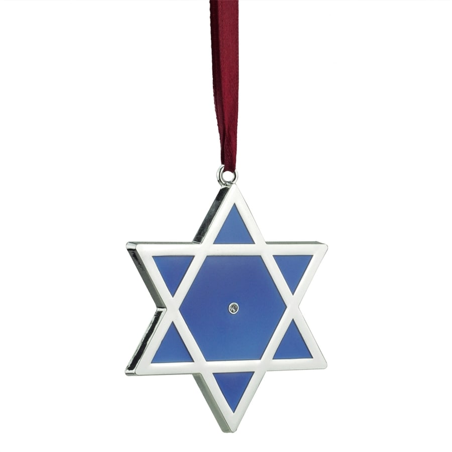 Northlight Metal Hanging Star Of David Ornament