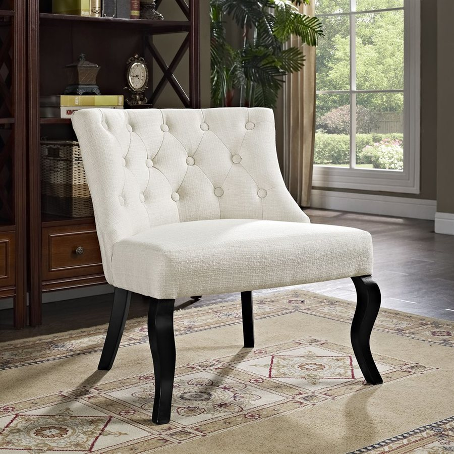 Modway Royal Beige Polyester Accent Chair