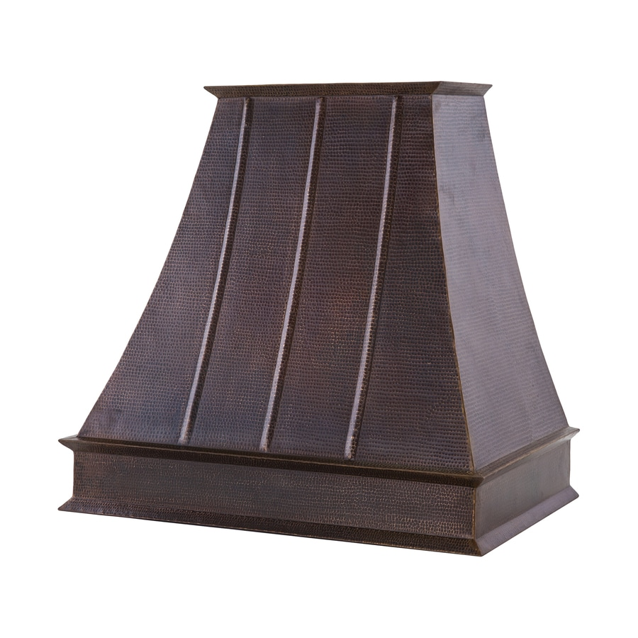 Shop Premier Copper Products Euro Ducted Wall Mounted Range Hood Oil Rubbed