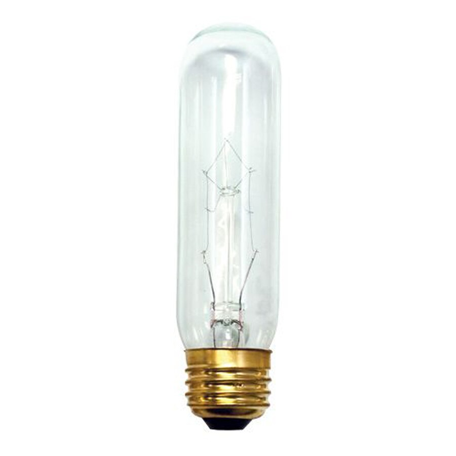 Cascadia Lighting 20-Pack 40 Watt Dimmable Warm White T10 Incandescent Tube Light Bulb