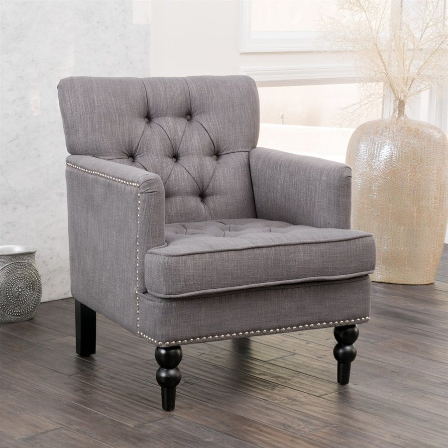 Best Selling Home Decor Malone Charcoal Club Chair