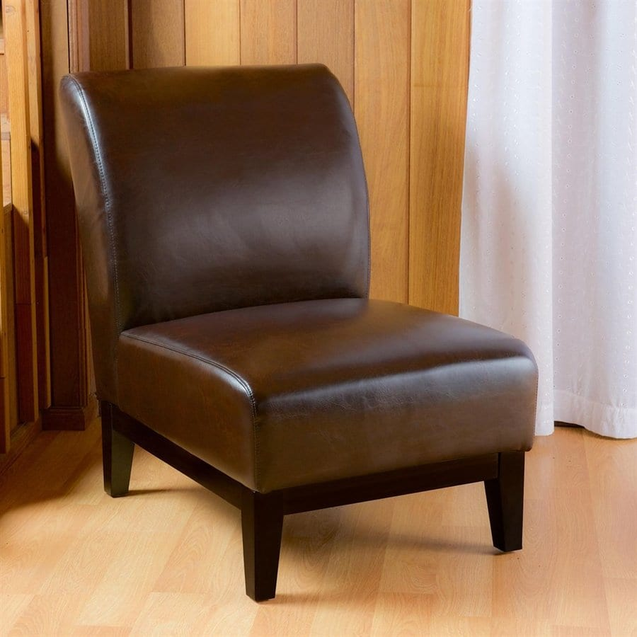 Shop best selling home decor darcy brown faux leather for Selling home interior products