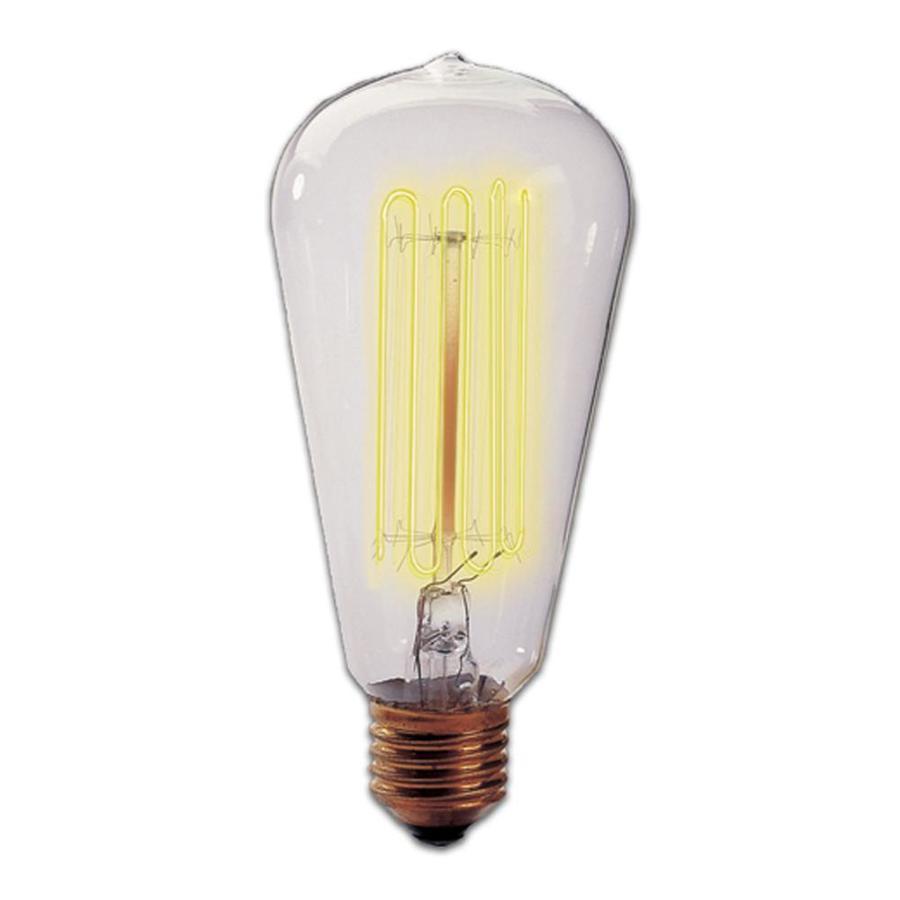 Cascadia Lighting 3-Pack 40 Watt Dimmable Warm White Vintage Incandescent Light Fixture Light Bulb
