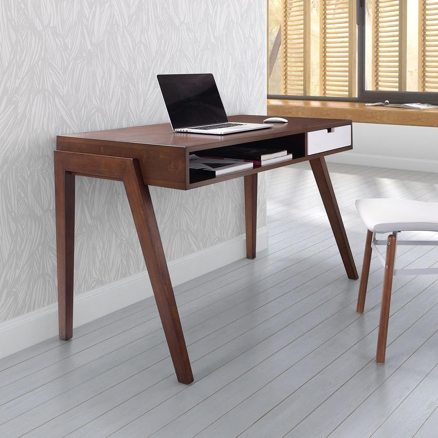 Zuo Modern Linea Walnut Writing Desk