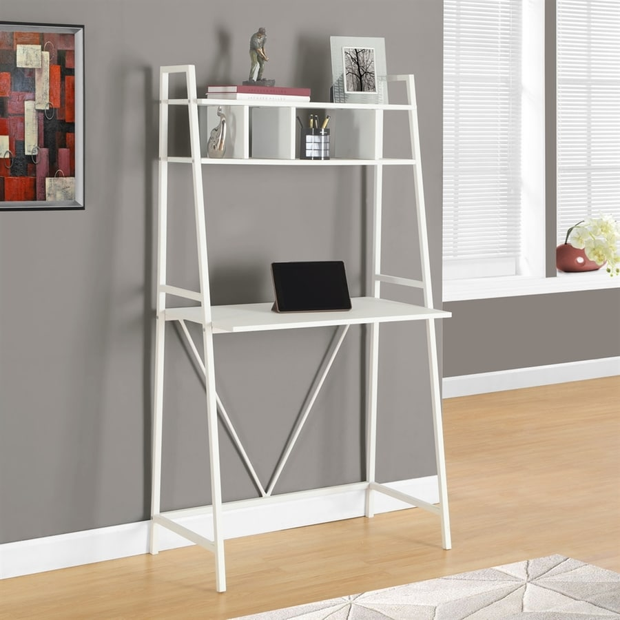 Monarch Specialties White Laptop Desk