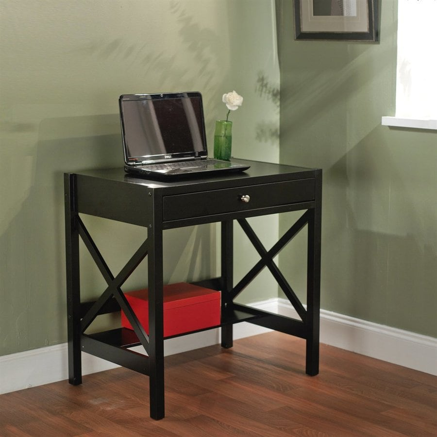 TMS Furniture Black Writing Desk