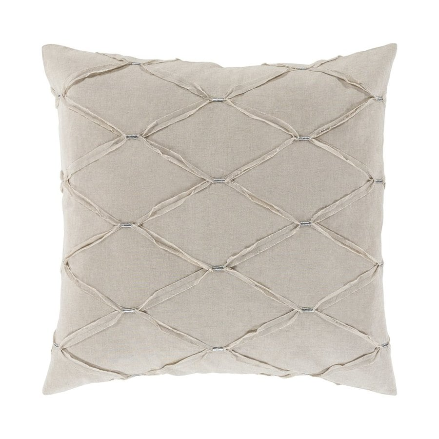 Surya Aiken Natural Euro Blend Pillow Case
