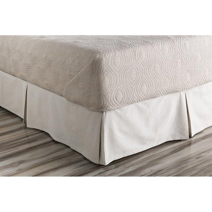 Surya Audrey California King 15-in Bed Skirt