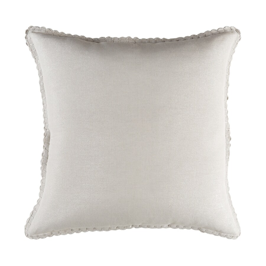 Surya Audrey Natural Euro Blend Pillow Case
