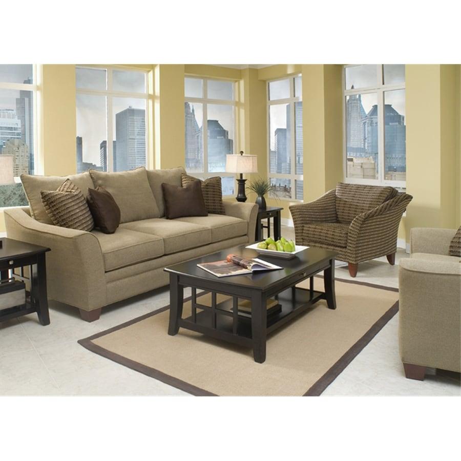 Klaussner Posen Wooten Sandstone Sofa
