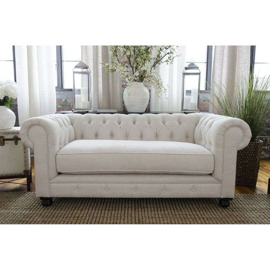 Elements Fine Home Estate Seashell Synthetic Loveseat
