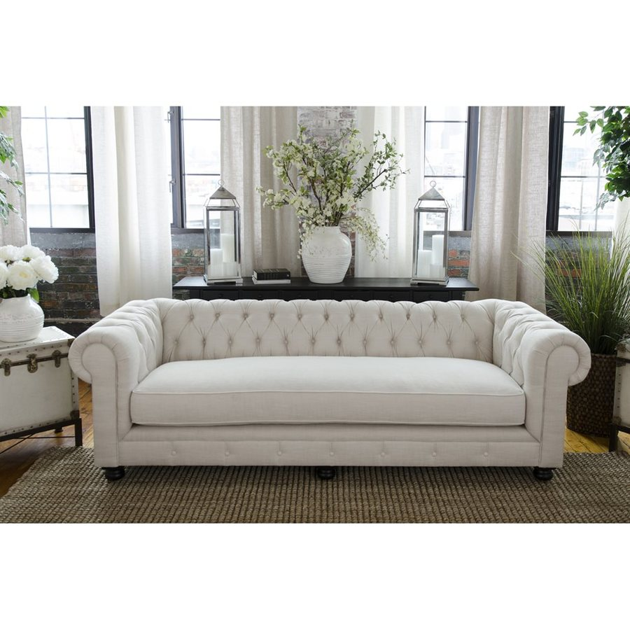 Elements Fine Home Estate Seashell Synthetic Sofa