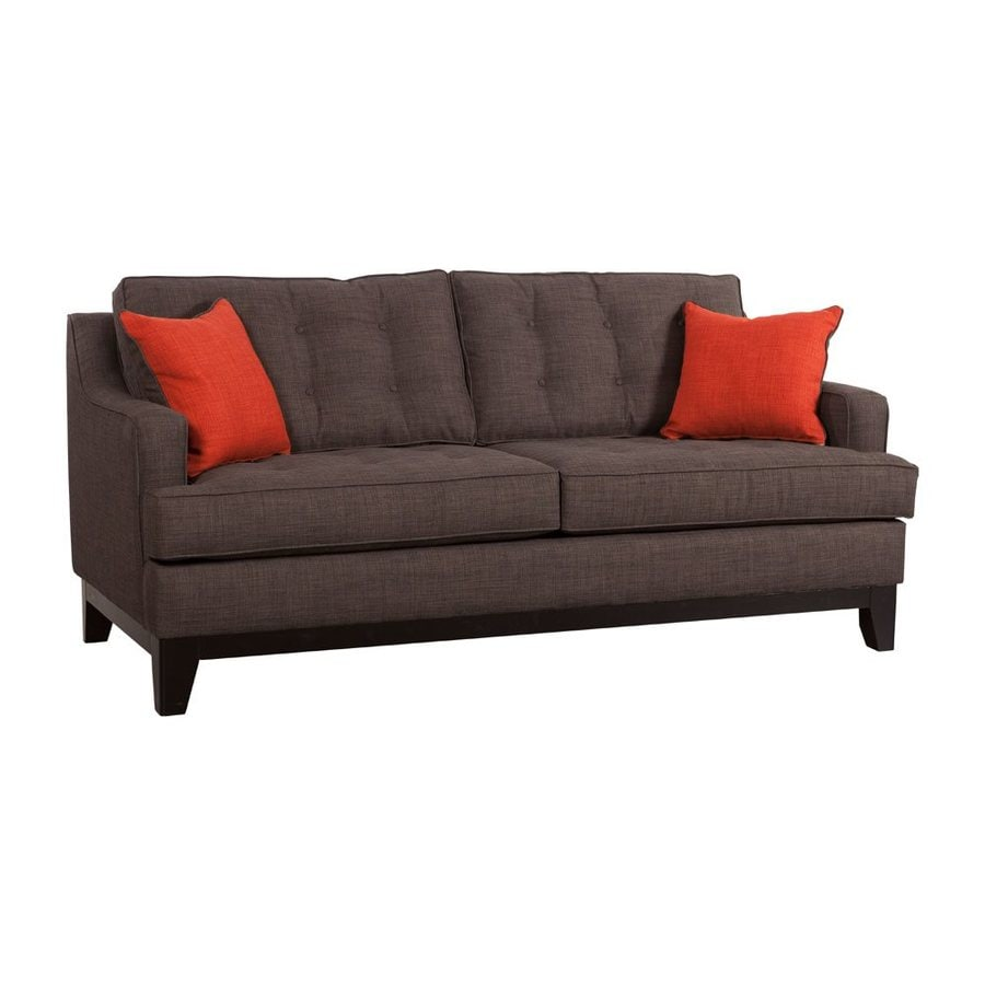 Zuo Modern Chicago Charcoal Polyester Sofa