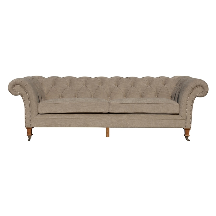 Moe's Home Collection Beatrice Cappuccino Polyester Sofa