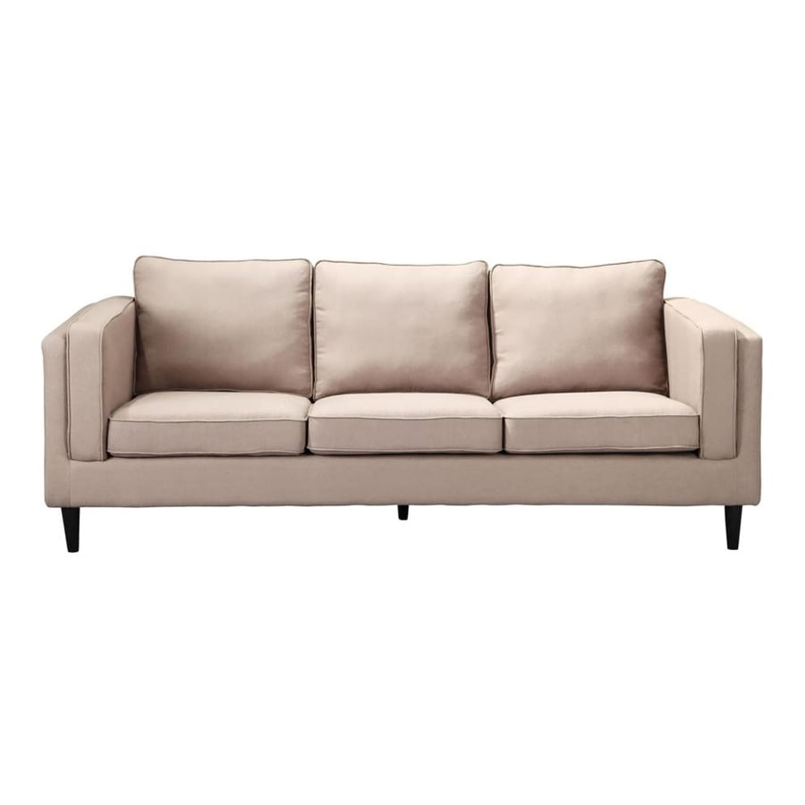 Moe's Home Collection Rosilini Light Grey Polyester Sofa