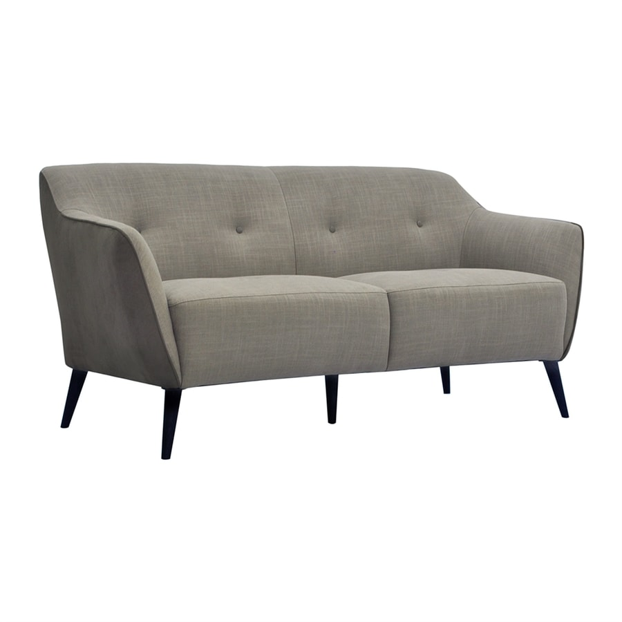 Moe's Home Collection Cortina Taupe/Grey Polyester Sofa