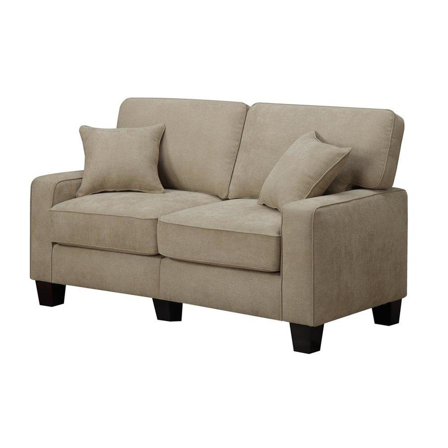 Serta at Home Martinique Navarre Beige Polyester Loveseat