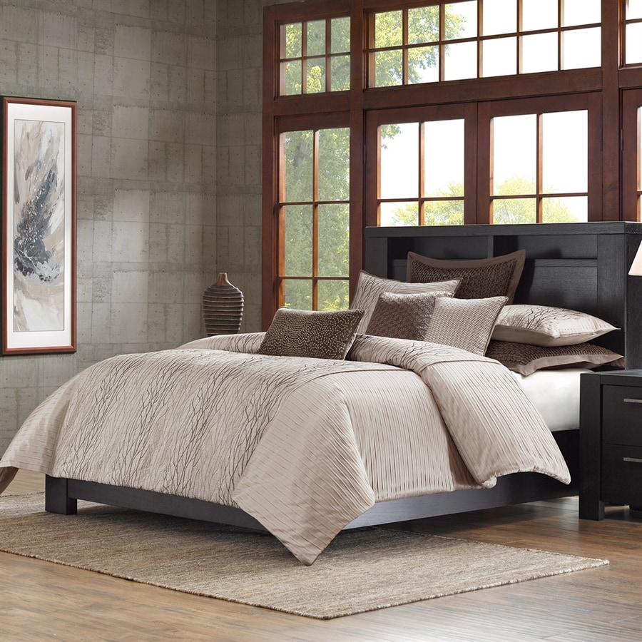 Metropolitan Home Eclipse 3-Piece Taupe King Comforter Set