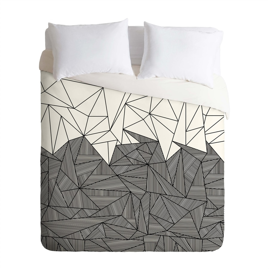 Deny Designs Brandy Rays Multicolored Twin Duvet Cover