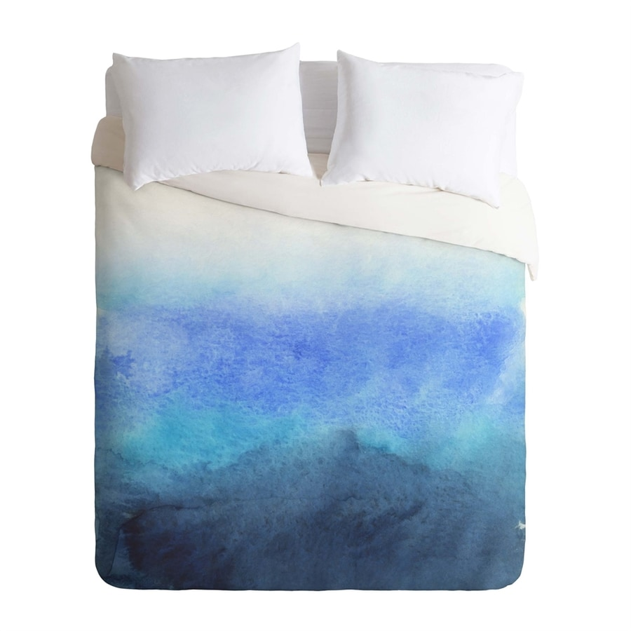 DENY Design Fade Multicolored King Duvet Cover