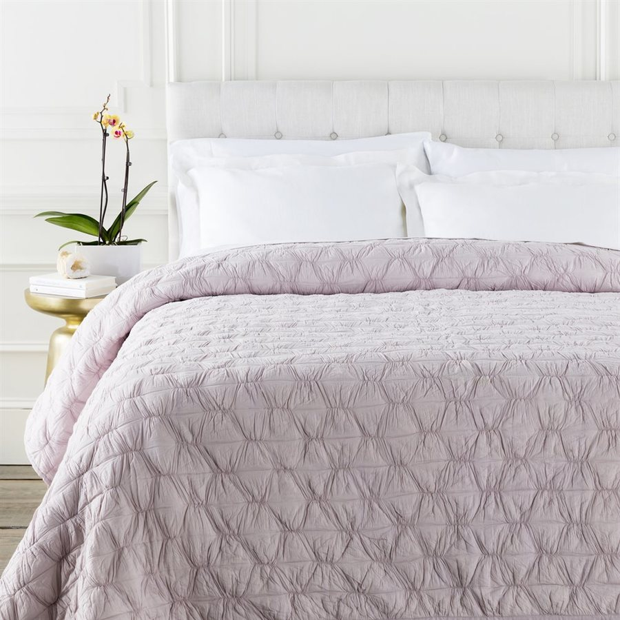 Surya Melissa Lilac Twin Quilt