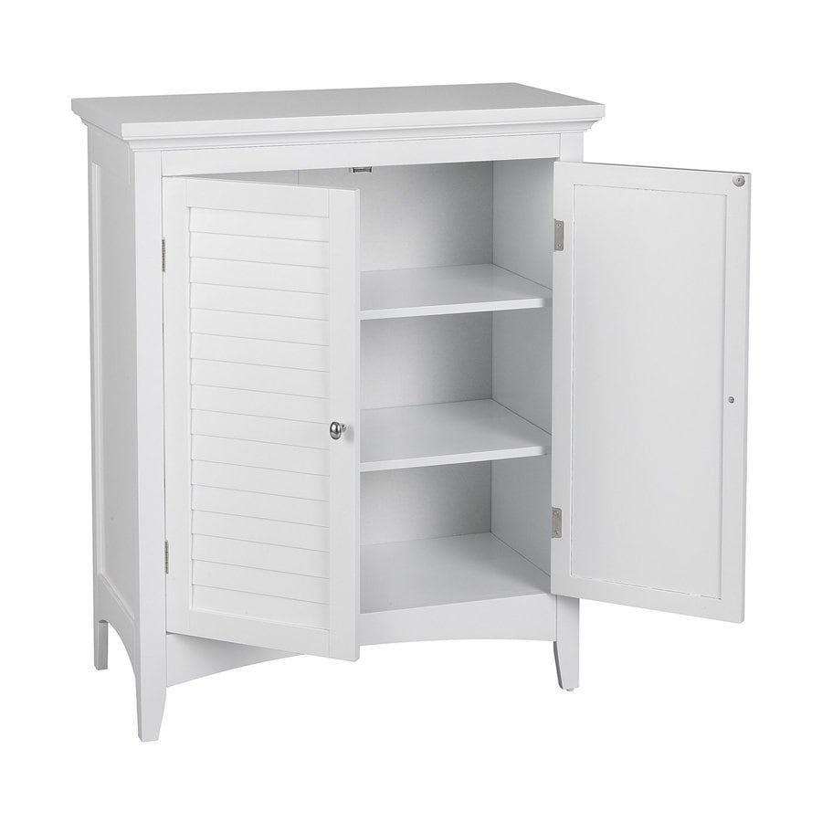Shop elegant home fashions slone 26 in w x 32 in h x 13 in for White cabinets