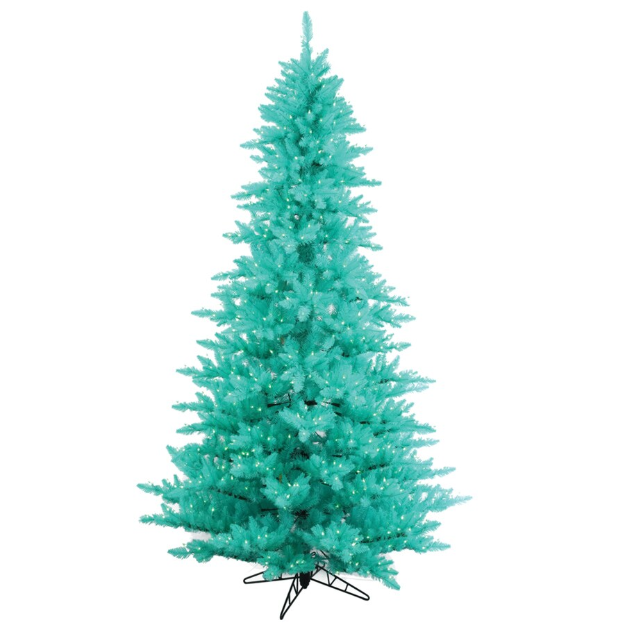 vickerman 45 ft pre lit whimsical artificial christmas tree with 250 constant blue incandescent